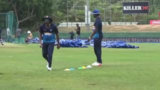 Ind VS Sri Lanka 2017 : Sri Lanka Sweats out at Practice Session for ODI