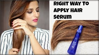 HairCare Tips: Right Way To Apply Hair Serum To Moisturize & Protect Hair Before Heat Styling