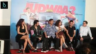 Chalti Hai Kya 9 Se 12  Song Live Singing By Taapsee Pannu & Varun Dhawan | Judwaa 2 Trailer