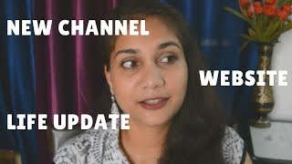 Life Update | New Channel , Website, Shipping charges etc.. | Nidhi Katiyar
