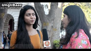 What do GIRLS like Rich or Handsome Guys | Street Interview in India 2017 | UnglibaaZ