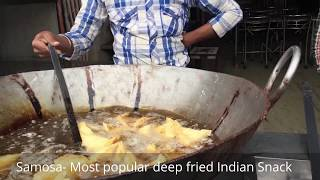 Indian Snack - Samosa | Popular Indian Food