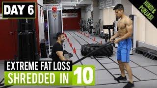 Bollywood HIGH INTENSITY Lean Body Workout! Day-6 (Hindi / Punjabi)