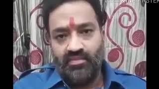 डेरा सच्चा सौदा प्रमुख संत गुरमीत राम रहीम के समर्थन में उतरे विरेश चांडिल्य