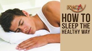 HOW TO SLEEP The Healthy Way | Dr. Deepika Malik (Dietician)