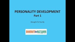 5 Tips on Personality Development - Part 1