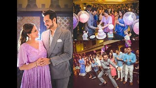 Hema Malini's Daughter Esha Deol Baby Shower Sister Ahana Hosts A Surprise Baby Shower