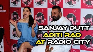 Bhoomi Movie Promotion At Radio City | Sanjay Dutt, Aditi Rao Hydari At Radio City