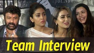 Paisa Vasool Team Funny Interview | Balakrishna | Shriya | Kyra Dutt | Muskan Sethi |