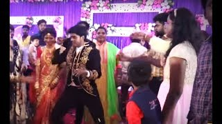 Sandy dance wedding reception | Robo sankar dance at Sandy wedding