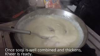 Rava Payasam Recipe | Sooji Ki kheer | Easy Indian Dessert Recipe
