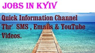 Jobs in KYIV  City for freshers & graduates. industries, companies. UKRAINE