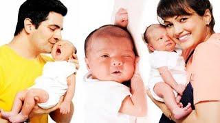 Karan Mehra & Nisha Rawal New Born Baby Cute Photoshoot