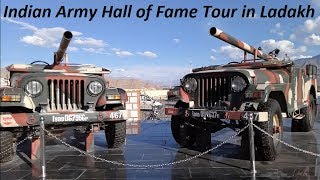Indian Army Hall of Fame & Shanti Stupa Leh Ladakh Tour.