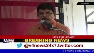 Celebrated teacher's day in Brilliant pu college Mangalore