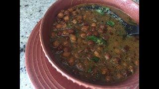 Kale Chane Recipe Hindi | Easy Healthy Vegan Recipe