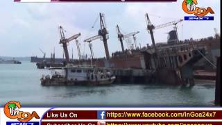 Sinking of floating dry dock: MPT says no threat to environment