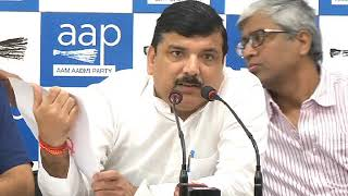 AAP Leader Sanjay Singh Briefs on the ADR Report & Gauri Lankesh Issue