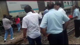 Two coaches of Rajdhani Express derail in Delhi