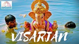 Celebrating Ganesh Visarjan with Full Spirit vlog @awSumit Ganpati Bappa Morya!