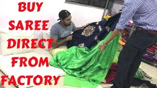 Gujarat Saree Factory Explore | Buy Cheapest Saree In Wholesale | Home Delivery