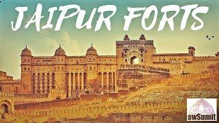 Jaipur VLOG (Amber Fort to Nahargarh, Hawa Mahal, Jal Mahal, Sheesh Mahal & Wax Musuem) @awSumit