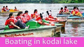 The beautiful man - made lake - Kodai kanal lake boating