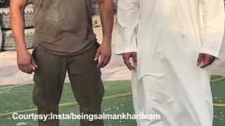 BRUISED Salman Khan on 'Tiger Zinda Hai' set