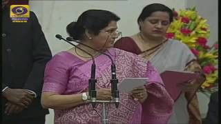Mansukh Mandaviya - taking oath as a Minister of State, Government of India