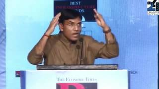 Mansukh Mandaviya's address on Best Infrastructure Brands Award Ceremony of Economic Times