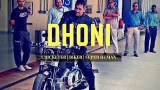 MotorcycleDiaries.in | Tribute to Captain Cool Dhoni
