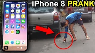 Funny iPhone 8 Prank GONE WRONG PRANKS IN INDIA