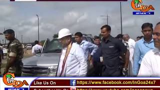 BJP NATIONAL PRESIDENT AMIT SHAH VISITS SOLID WASTE MANAGEMENT PLANT AT SALIGAO