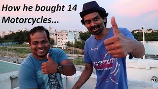 How he bought 14 Motorcycles. Bulu Biker's Inspiring Story.