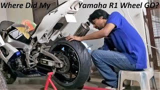Where Did My Yamaha R1 Wheel GO? Question Answered.