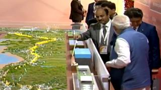 Modi, Abe lay foundation stone of Bullet Train project