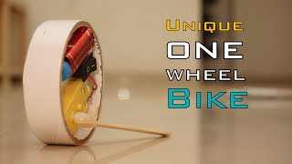 How To Make Unique One Wheel Electric Bike | Indian LifeHacker