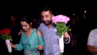 Screening Of 'Haseena' | Shraddha Kapoor accompanies by her brother Siddhant