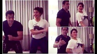 सलमान खान और जैकलीन फर्नांडीज ने इस तरह की मस्ती |Salman Khan Recreates Tan Tana Tan With Jacqueline