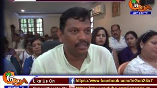 SEWARAGE TREATMENT PLANT IN CALANGUTE ON THE WAY OF COMPLETION : LOBO