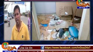 AFTER VASCO POLICE STATION LOCALS RAISE ISSUE OF PATHETIC CONDITION IN  DABOLIM AIRPORT
