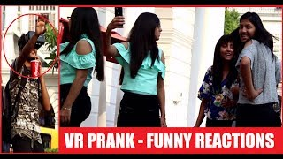 VR PRANK - (SLAP & RUN) Pranks IN India 2017- First Time In India