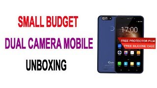 Gretel Mobile Unboxing | Low Budget  Dual Camera Phone | AliBaba.com