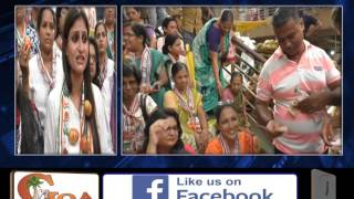 MAHILA CONGRESS PROTESTS AGAINST RISING PRICES OF TOMATOES