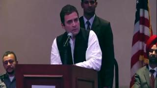 Divisive politics ruining India's reputation abroad: Rahul Gandhi