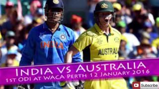 India vs Australia Cricket Playing Score 2017 | Sports News.