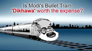 Is Modi's Mumbai-Ahmedabad Bullet Train 'Dikhawa' worth the expense?