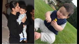 Taimur Ali Khan's latest photos Super | Taimur Ali Khan Celebrating Mommy Kareena Kapoor's Birthday
