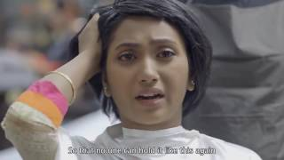 She's getting her hair trimmed shorter and shorter   Amazing Ad 2017