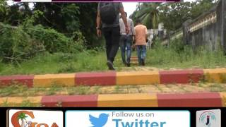 DILAPIDATED CONDITION OF A PATHWAY WITHIN 2 YEARS OF BEAUTIFICATION